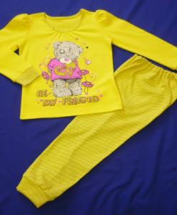 Пижама интерлок печать Тедди