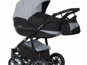Продаю коляску Mondo Expander Black Carbon 3в1