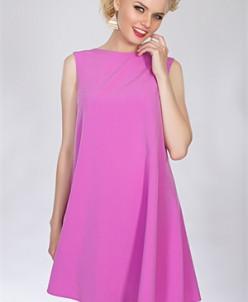 Повседневное платье #15052710 (Лиловый)
