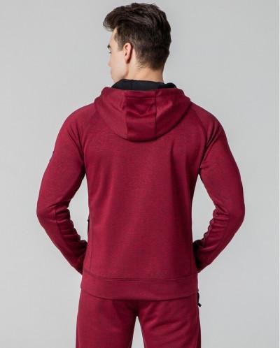 Фабричная толстовка спортивная Киро Токао красная модель 462