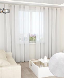 Петит Флер 140х270 арт.59973 белый тюль штора