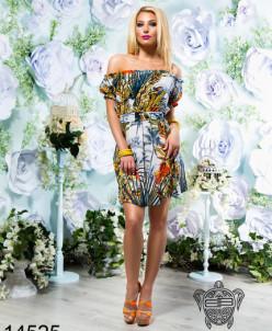 Легкое шифоновое платье - 14525