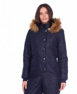 Женский зимний комбинезон К082