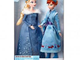Новинка от Disney!!! Анна и Эльза в зимнем аутфите