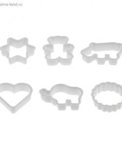 """Набор форм для печенья (набор 6 шт) """"Ассорти"""""""