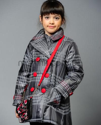 Пальто «Дольче», клетка
