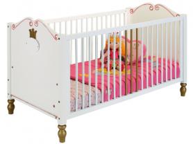 Детская кроватка PRINZESSIN