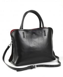 Женская кожаная сумка 8806 Блек