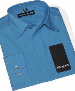 Рубашка однотонная 164-170 см
