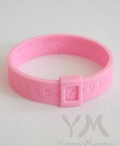 Молочный браслет (розовый)