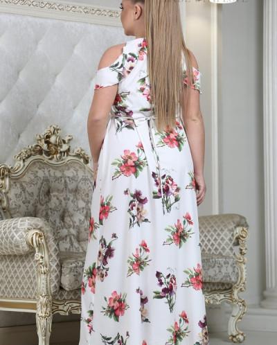 Платье Моана анютины глазки