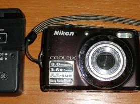 Фотоаппарат цифровой Nikon Coolpix L21 нерабочий