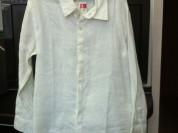 Рубашка новая льняная DRam