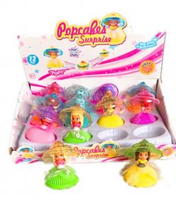 12 штук 】Куклы в кексе