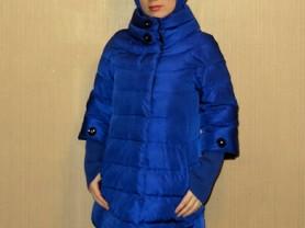 Зимняя куртка пуховик-трансформер SnowBeauty 44-46