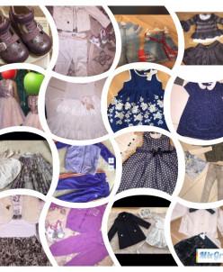 много одежды для девочек