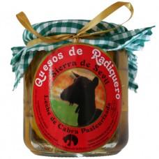 Козий сыр 'Sierra de Sevil' в натуральном оливковом масле