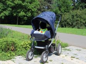 Коляска Baby Design Lupo Comfort 3 в 1 + аксы