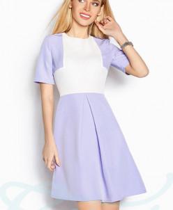 Легкое расклешенное платье