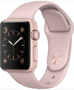Apple Watch Series 1 38mm with Sport Band Rose Gold