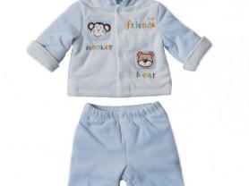 Утепленный костюм для новорожденного