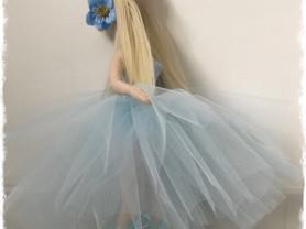 кукла ручной работы балерина