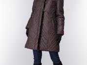 Пальто новое с норкой, 46-48 р-р