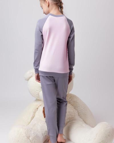 Пижама для девочки Коса