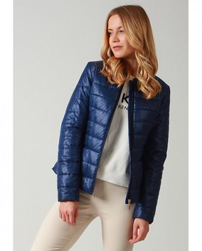 f9ecf56a1a51 Куртка женская 63329 TwinTip синяя 691685 - Babyblog.ru
