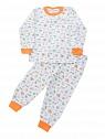 Пижама Adik - белый цвет