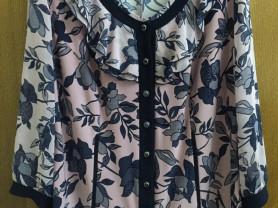 Стильная блузка размер 54