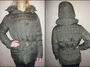 Зимняя куртка болотного цвета