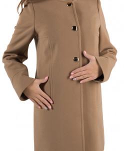 14-0025-02 Пальто женское демисезонное Кашемир Песок