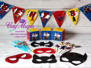 День рождения в стиле Супергерои.