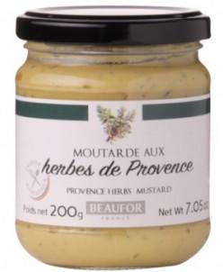 Французская горчица с травами прованса, 200 гр.