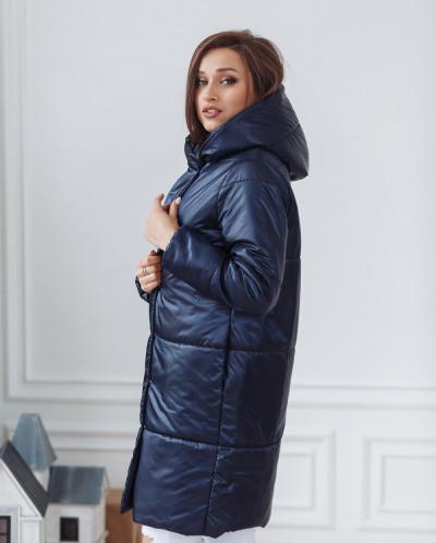 Пальто женское демисезонное 21910/б (navy)