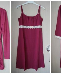 MELADO Комплект (кардиган, сорочка и халат), 42-44