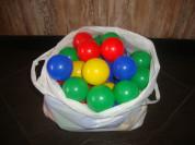 Набор небольших шариков для сухого бассейна (50шт)