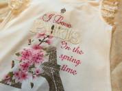 Новая летняя одежда для девочки футболки , туники ,  шорты