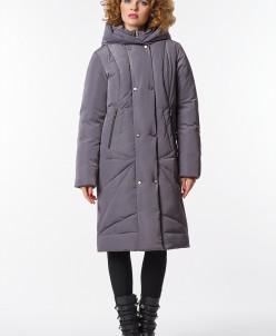 """Пальто """"Флория"""" серый"""