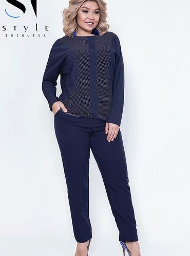 Костюм 44112 (блузка+брюки)