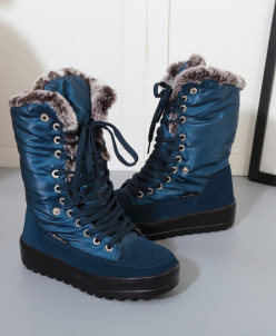 Дутики King Boots KB517BL Blau Синий