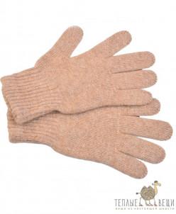 Детские перчатки из верблюжьей шерсти (бежевые)