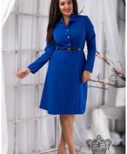 Платье с пышной юбкой - 11798