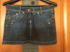 Короткая джинсовая юбка MAG jins р. M