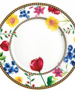 Тарелка десертная (белый) Contessa в подарочной упаковке