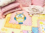 Комплект постельного белья/ бортики в кроватку