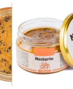 в наличие 3 баночка- 250 гр Взбитый мед Nectaria с облепи