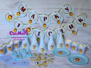 Декор дня рождения в стиле Левушка.
