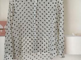 Лёгкая шифоновая блузка